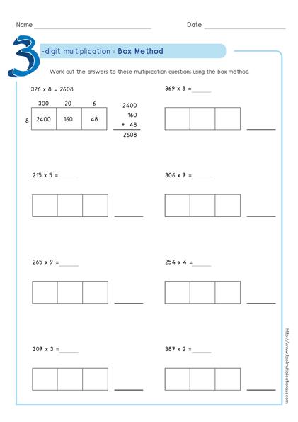 Box Multiplication
