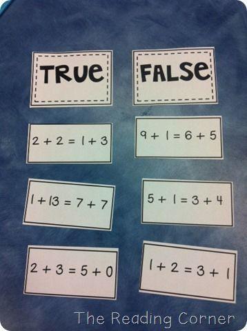 Multiplication True or False