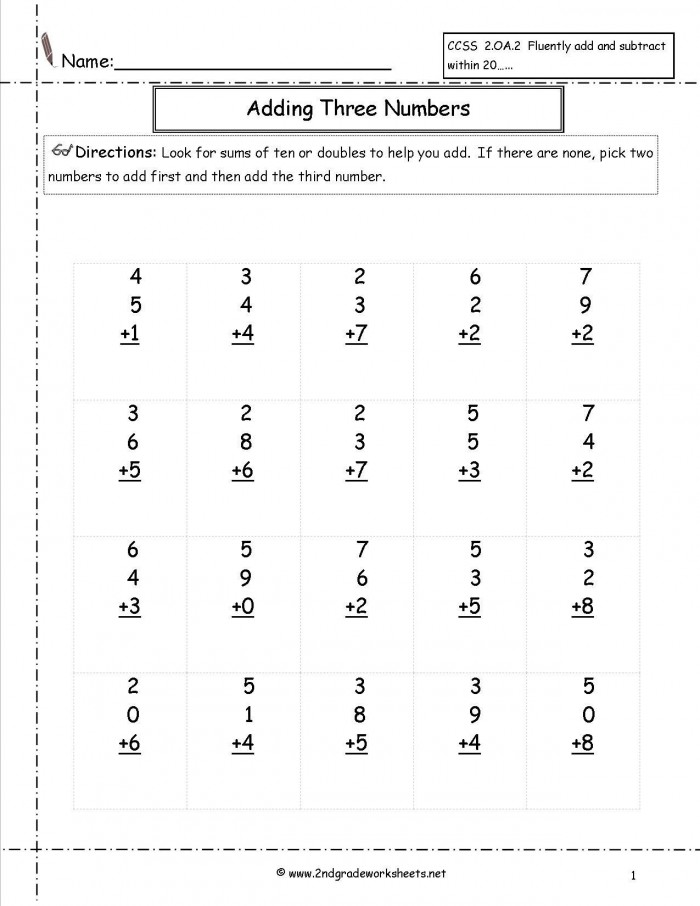 Sharpening Second Grader Ability in Addition Operation