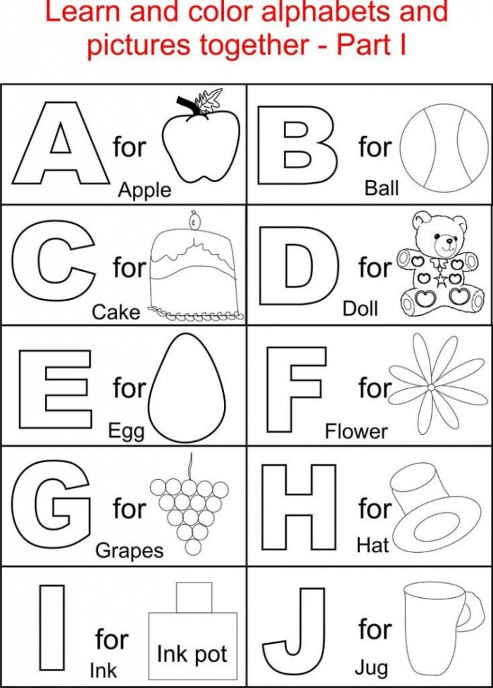 Abc Printables With Images