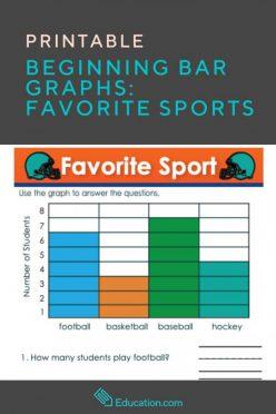 Beginning Bar Graphs: Favorite Sports