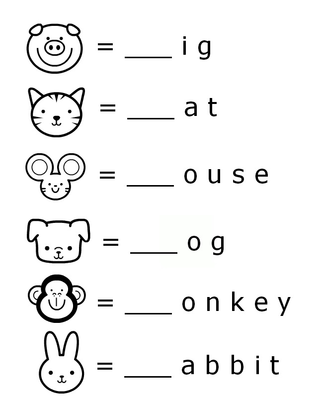 Beginning Sounds Letter Worksheets For Early Learners With Images