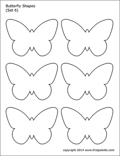 How To Draw A Shape Butterfly