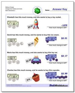 Dollars And Cents: How Much?