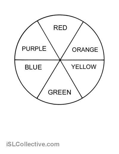Colour Wheel With Images