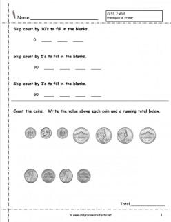 Practice Test: Counting Money