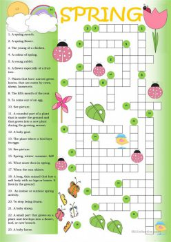 Spring Crossword