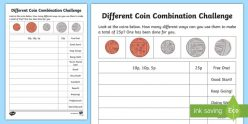 Coin Challenge: What's The Change?