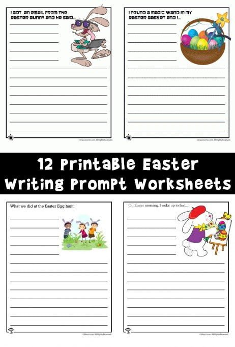Easter Story Starters