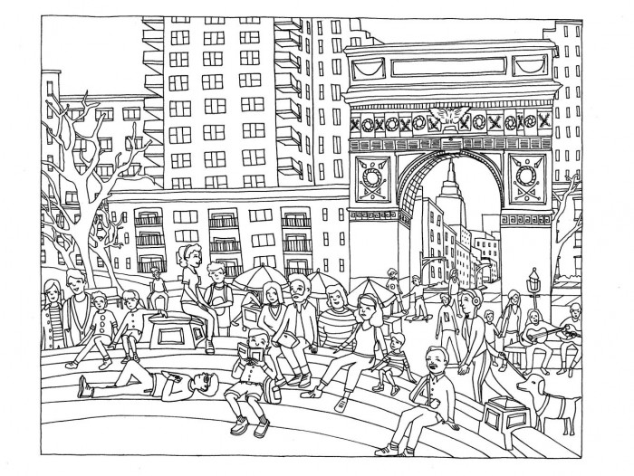 New York City Coloring Page Worksheets 99Worksheets