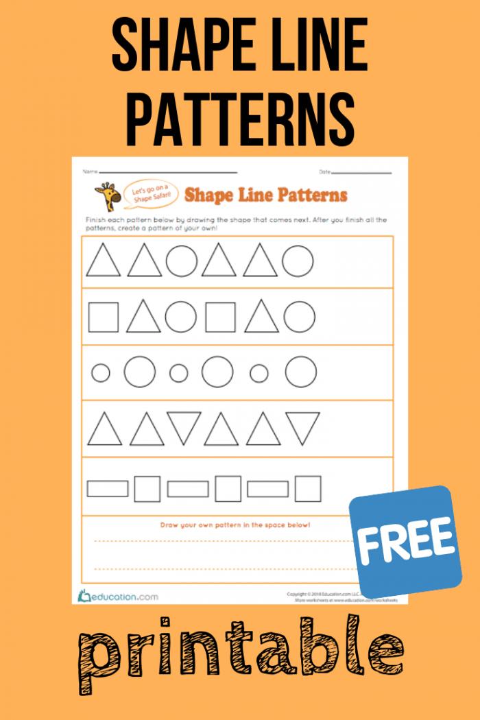 Shape Line Patterns
