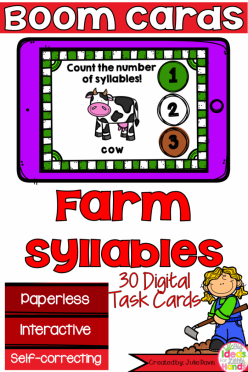 Count The Syllables: Animals