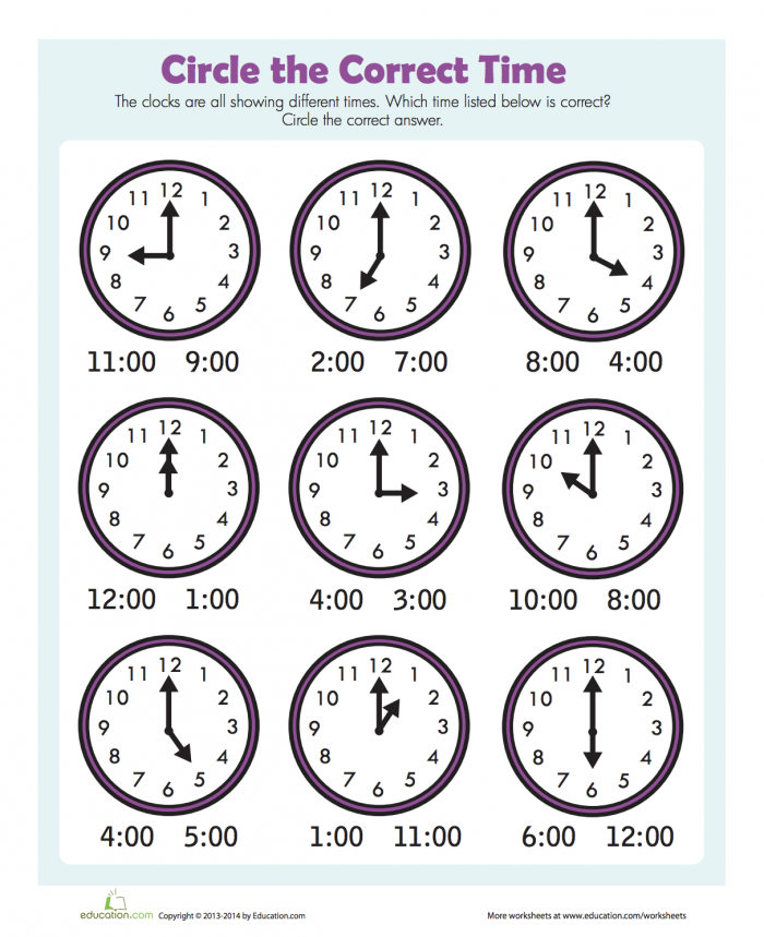 Find The Time With Images