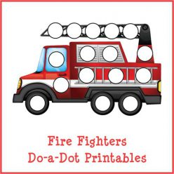 Fireman Dot To Dot: Whee!