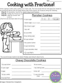 Recipe Fractions #2