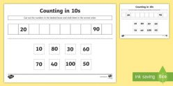 Skip Counting: Count By Tens!