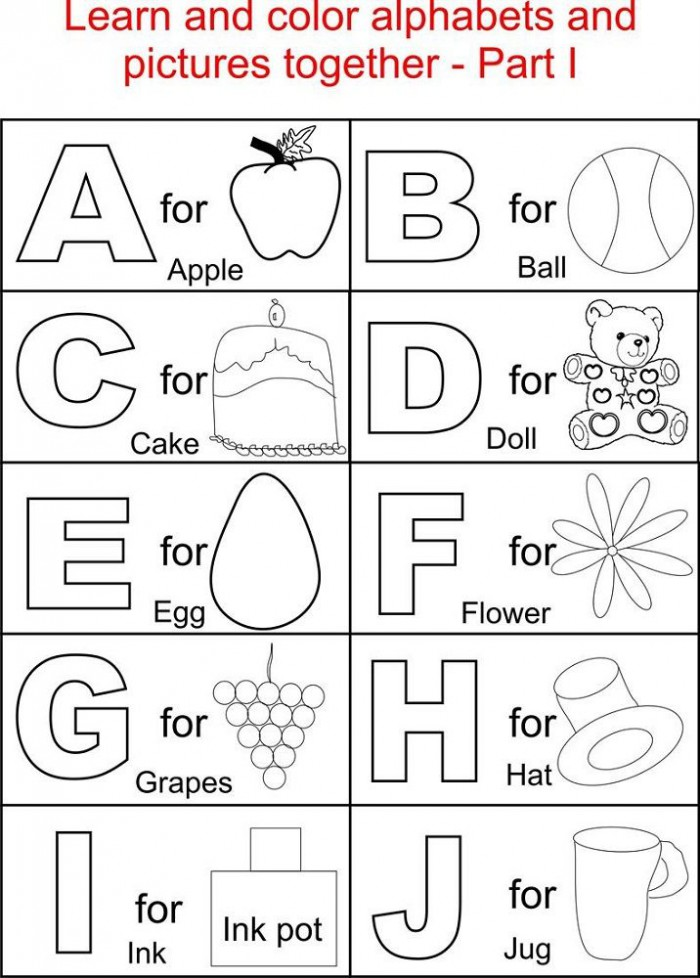 Free Alphabet Worksheets  With Images