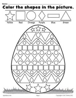 Color The Easter Egg