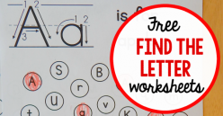 """Find The Letters: """"A"""""""