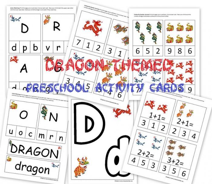 Free Prek Dragon
