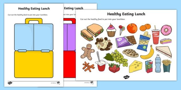 Healthy Eating Lunch Activity