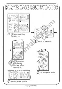 Mini-Book Instructions Page