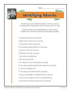 All About Adverbs: Verbs And Adverbs #1