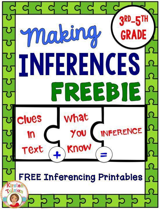 Inferencing Activities Free