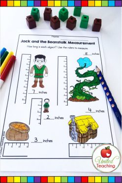 Jack And The Beanstalk: Measuring With A Ruler