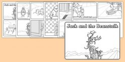Jack And The Beanstalk Story Sequence