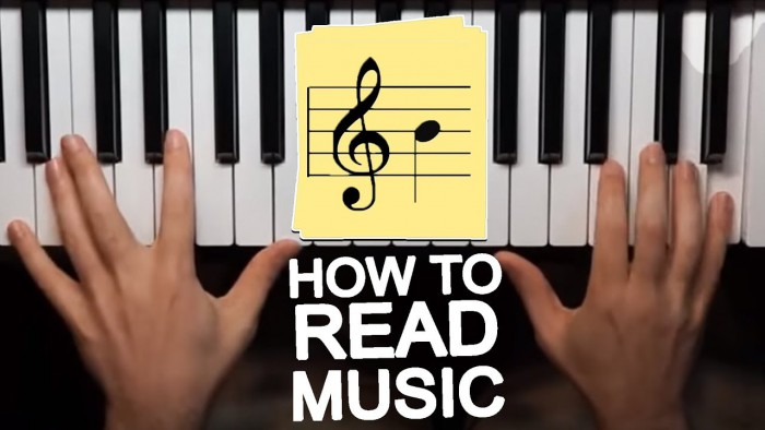 Learn To Play Piano Lesson  How To Read Music