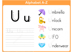 U Is For…