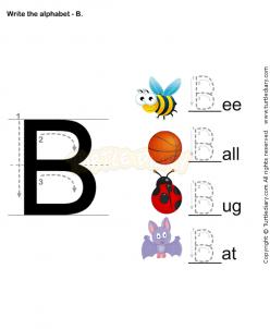 Tracing Letters E, F, L