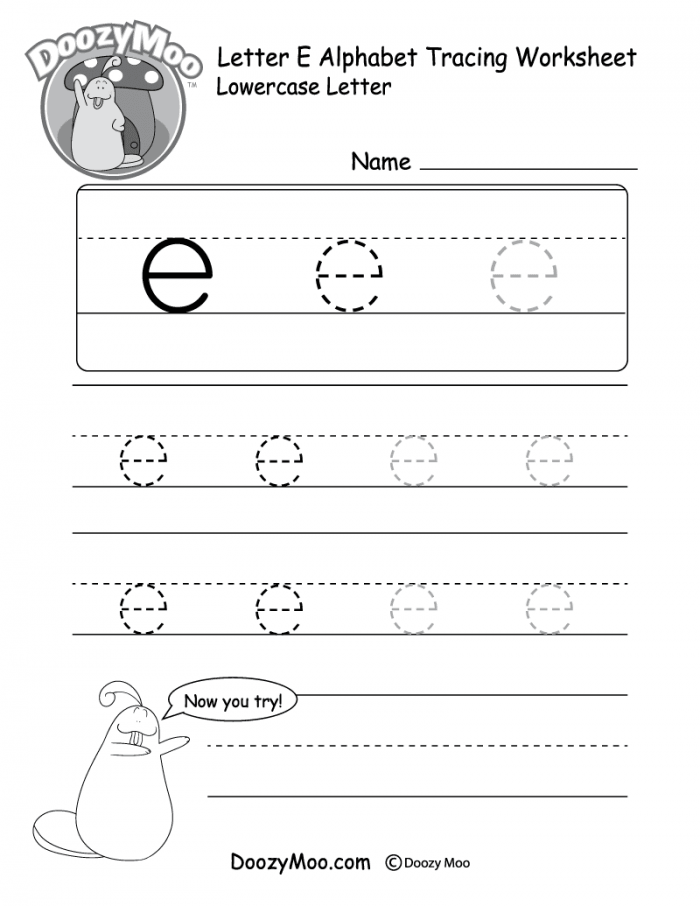 Small Letters: Lower Case Worksheets 99Worksheets