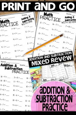 Review Addition: Adding Ones And Tens