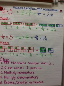 Illustrating Whole Number And Fraction Multiplication