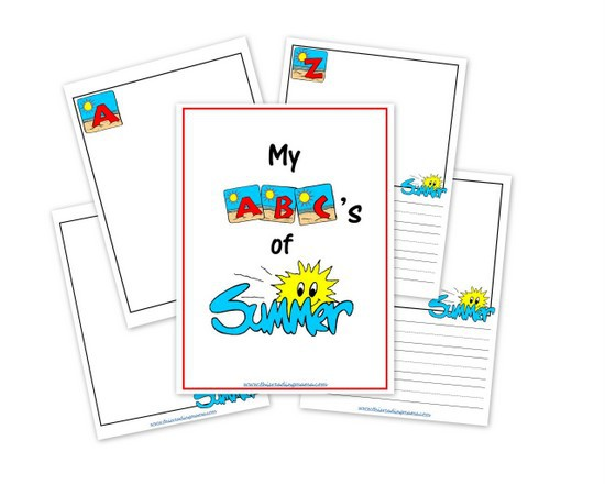 My Abcs Of Summer A Free Printable Journal