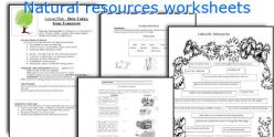 Natural Resources Vocabulary
