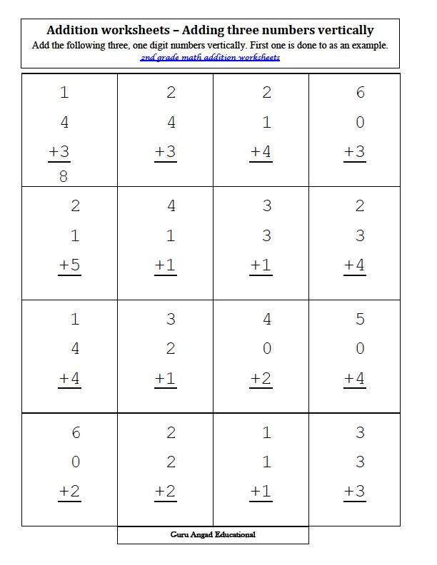 Nd Grade Math