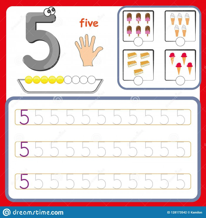 Number Cards  Counting And Writing Numbers  Learning Numbers