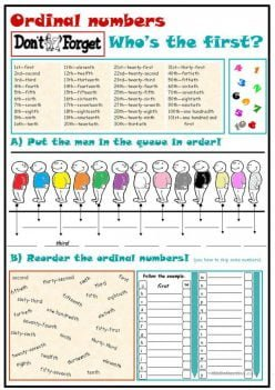 Ordinal Numbers