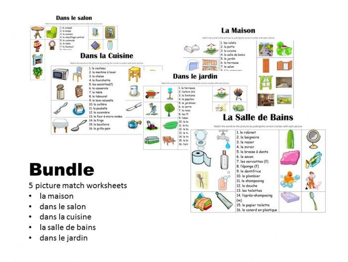 Picture Match Bundle La Maison