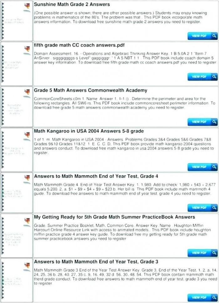 End Of Year Math Assessment: Measurement Worksheets 99Worksheets