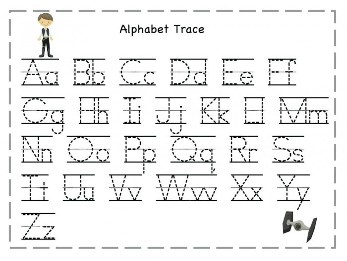 Preschool Worksheet Alphabet To Learning Alphabet Worksheet