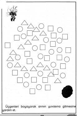 A-Maze-Ing Shapes: Follow The Circles
