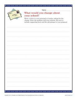Write A Persuasive Letter