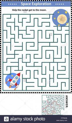 Spaceship Maze