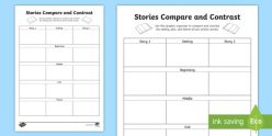 Comparing Two Stories