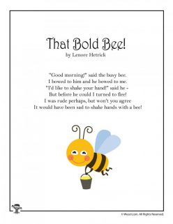 Bee Poems