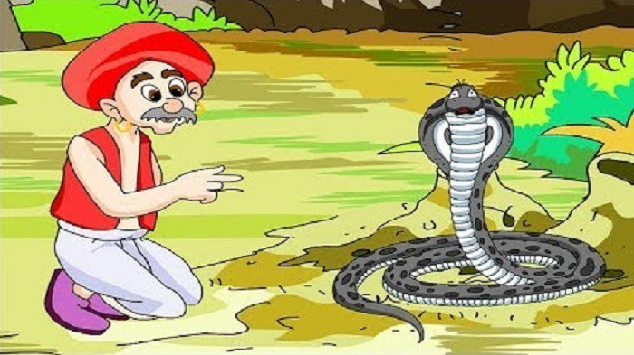 The Gold Giving Serpent Story
